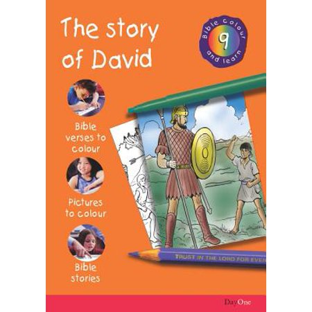Bible Colour and Learn: 9 David by