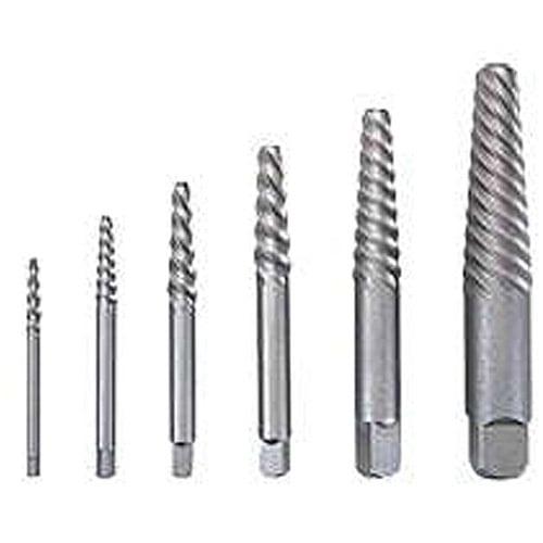 Vermont American 21825 6-Piece Spiral Flute Screw Extractor Set