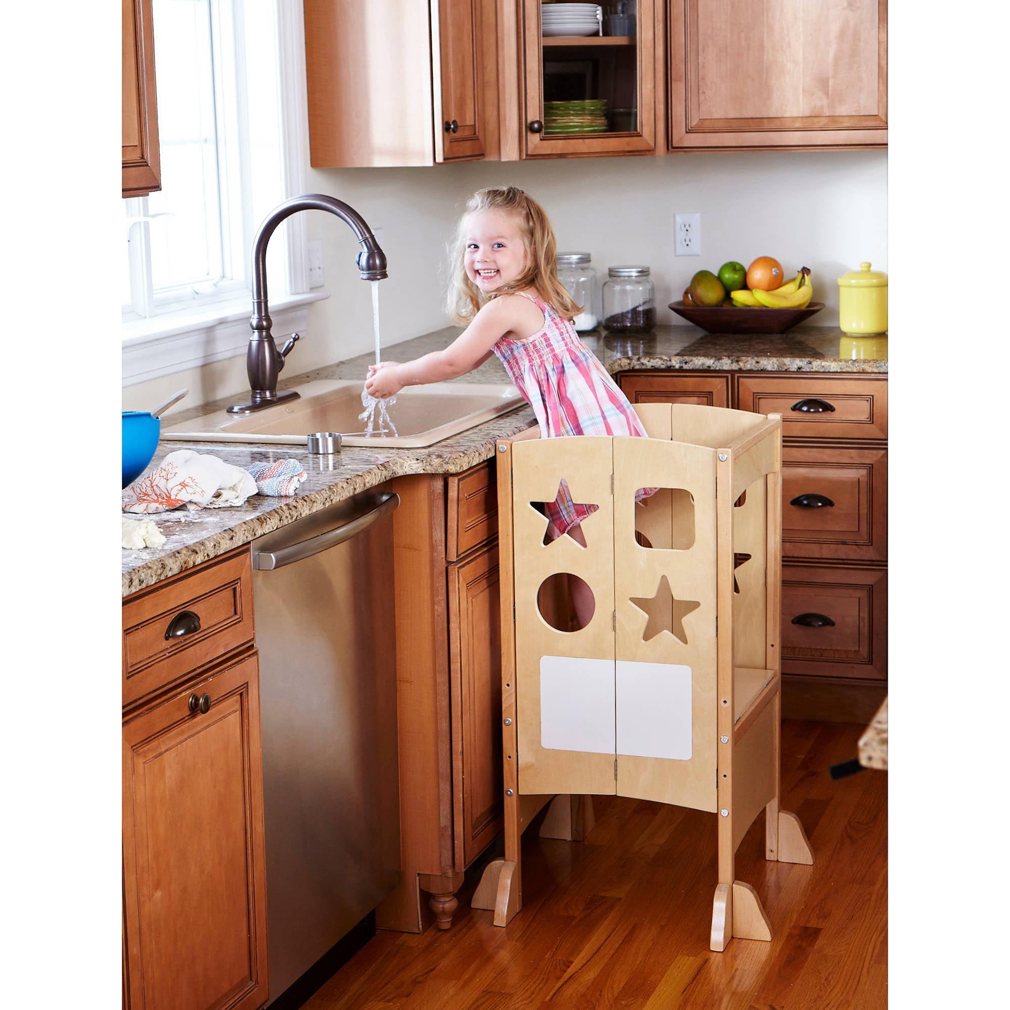 Guidecraft Household Helper 1 Step Birch Plywood Kitchen
