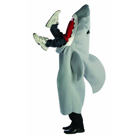 Shark Man Eating Adult Halloween Costume - One - Shark Eating Person Costume
