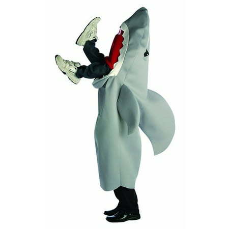 Shark Man Eating Adult Halloween Costume - One Size