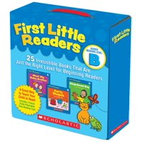 First Little Readers: Guided Reading Level B: 25 Irresistible Books That Are Just the Right Level for Beginning Readers (Paperback)
