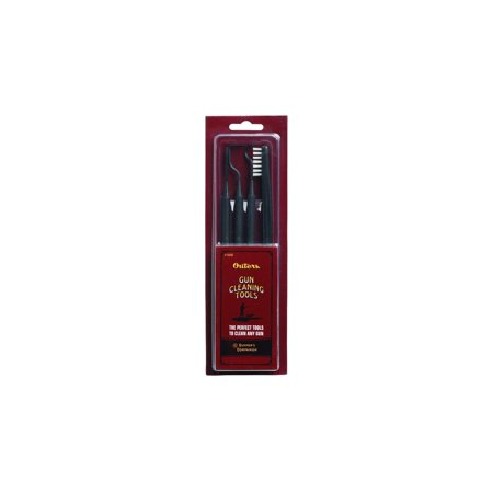 OUTERS 5 Piece 41948 Gun Cleaning Tool With Double-End Brush & Cleaning Picks
