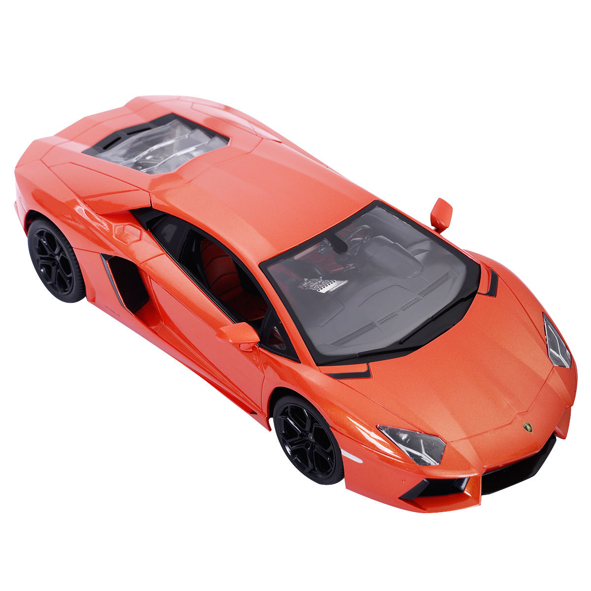 GHP 1:14 Scale Full Function Orange Lamborghini Aventador Remote Controlled Toy Car