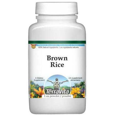 Rice Slices (Brown Rice Powder (1 oz, ZIN: 521311))