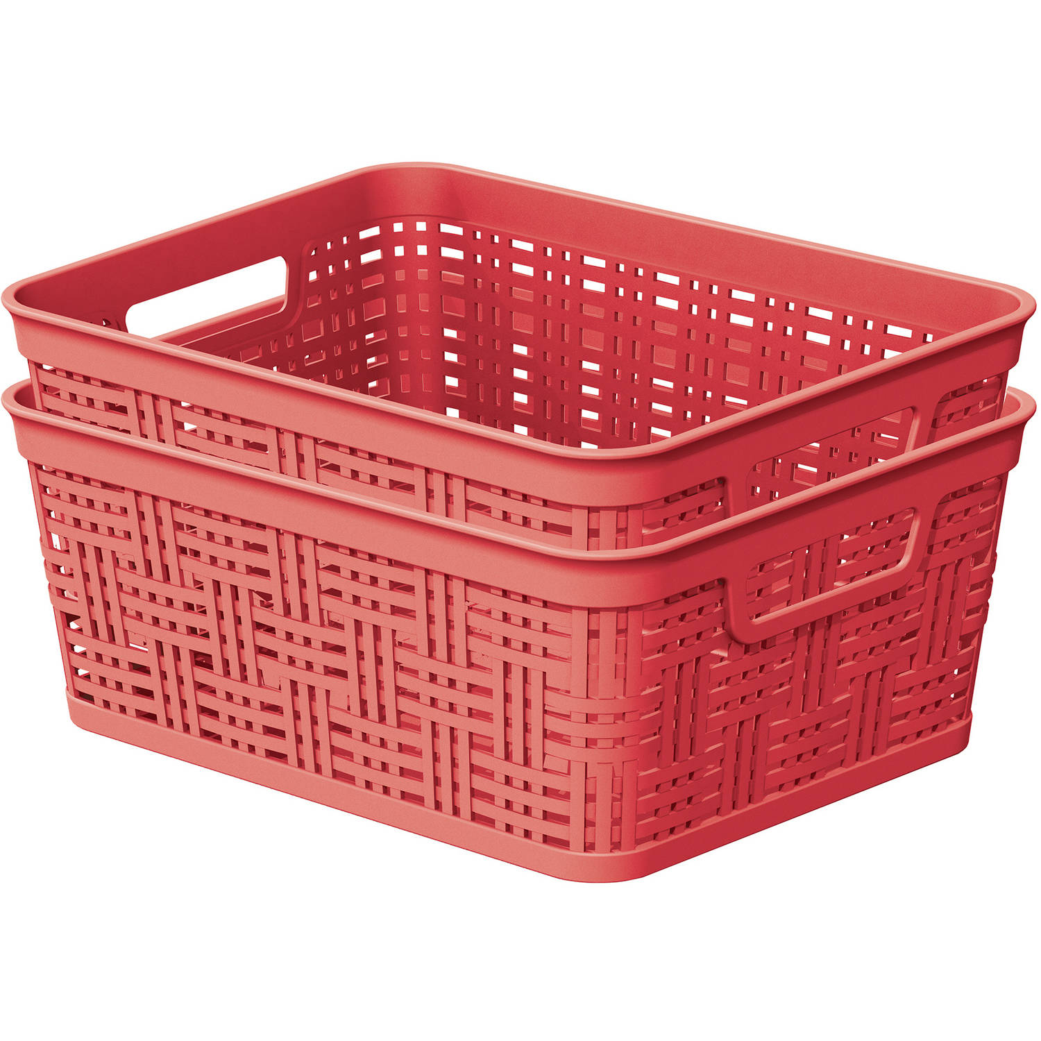 ***FASTTRACK***Mainstays 2 pack Small Decorative Basket