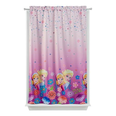 Disney's Frozen Kids Lights Off Room Darkening Curtain Panel, 63-inch L ()