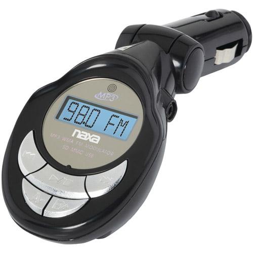 Naxa NA3029 MP3/WMA FM Modulator/Transmitter