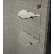 Aston Avalux GS 40'' x 72'' Hinged Frameless Shower Door