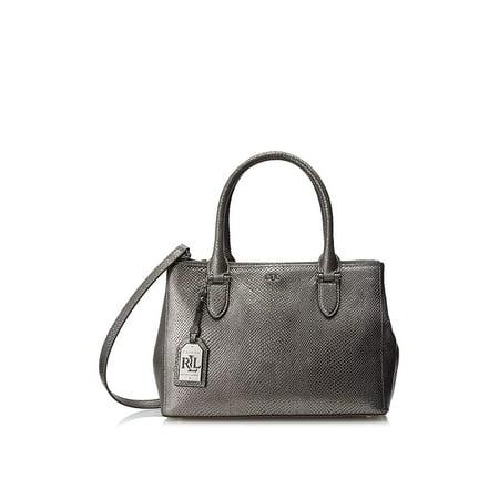 Zip Shopper Bag (Lauren Ralph Lauren Newbury Snake Double Zip Shopper)
