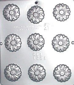 1251 Daisy Chocolate Candy Mold by