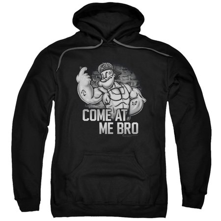 Popeye Come At Me Mens Pullover Hoodie