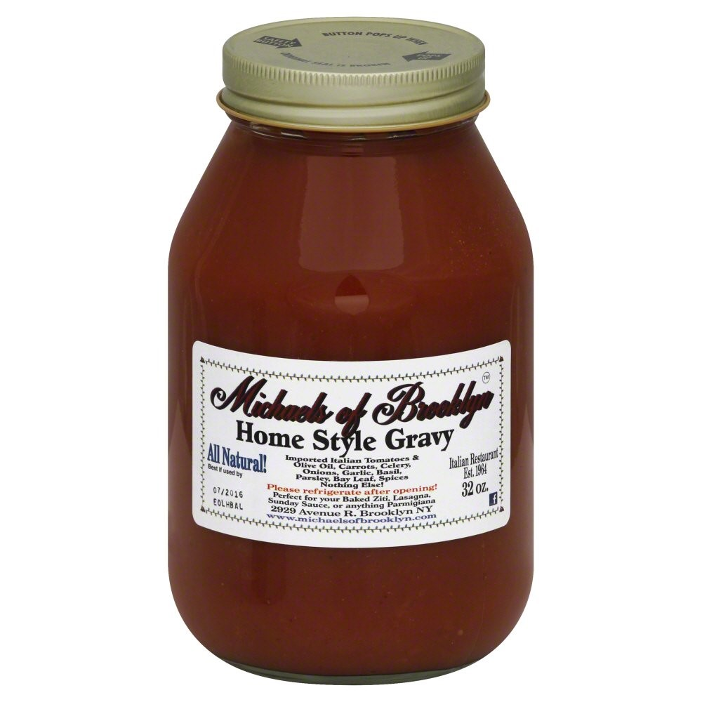 Michael's Of Brooklyn Gluten Free Pasta Sauce, Homestyle, 32 Oz