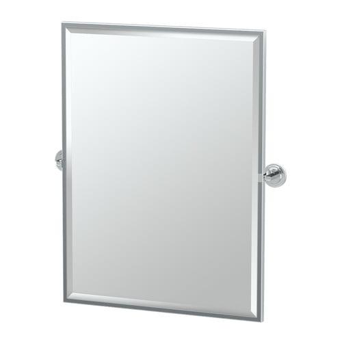 "Gatco 5239FS Marina 28-1 4""W X 32-1 2""H Wall-Mounted Framed Rectangular Mirror by Gatco"