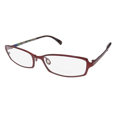 79ed70586749 New Paul Smith 1016 Womens Ladies Designer Full-Rim Titanium Red Titanium  High-