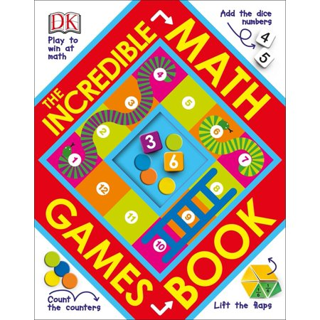Incredible Math Games Book (Board Book) - Cool Math Games Of Cooking
