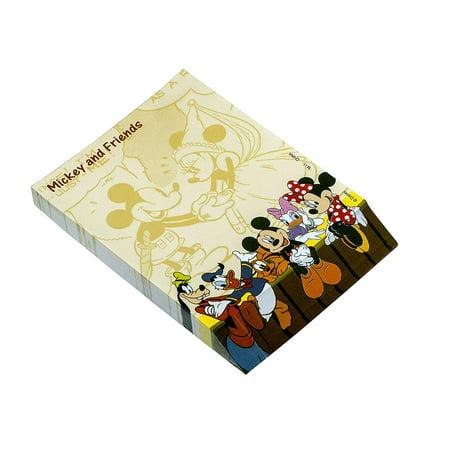 Notepad - Disney - Mickey & Gang Orange New - Disney Notepad