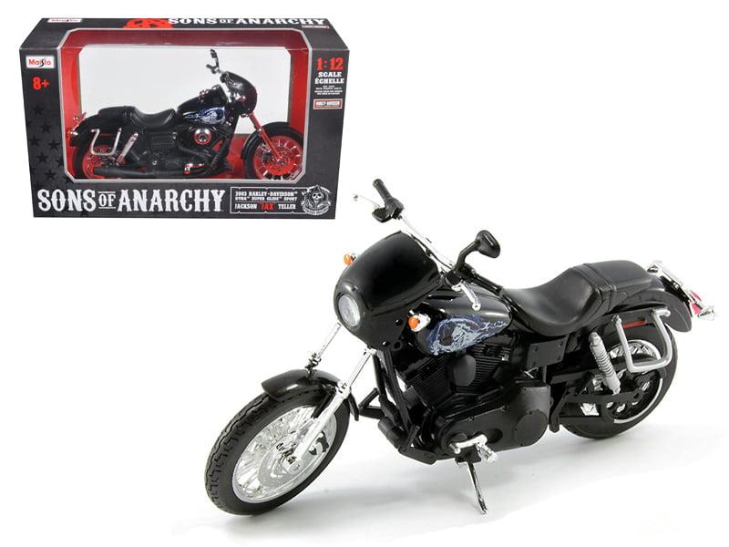 """Sons of Anarchy"" Jackson Jax Teller's 2003 Harley Davidson Dyna Super Glide... by Maisto"