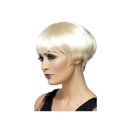 Flapper Bob Wig 42002 Smiffys Blonde