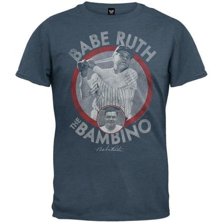 Babe Ruth Shirts - Babe Ruth - Bambino Soft T-Shirt