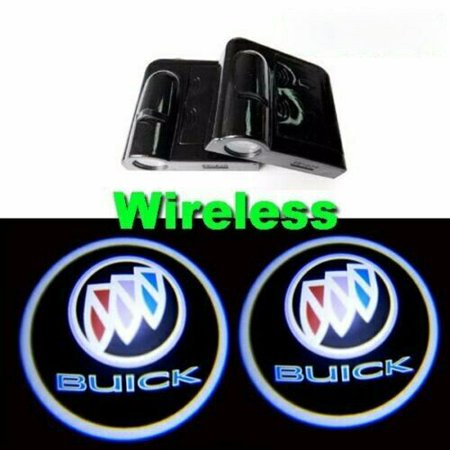 2x Wireless Ghost Shadow Projector Logo LED Door Step Light Courtesy (Surface Step Light)