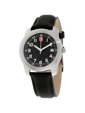 Victorinox Classic Black Dial Leather Strap Men's Watch 26010CB