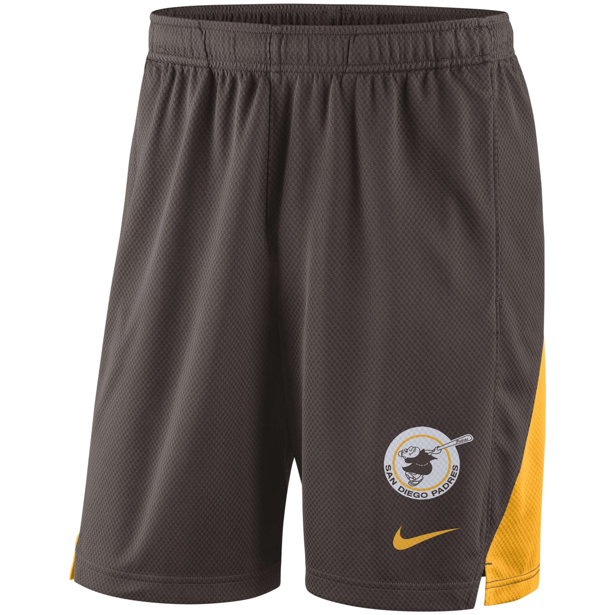 San Diego Padres Nike Franchise Performance Shorts - Brown