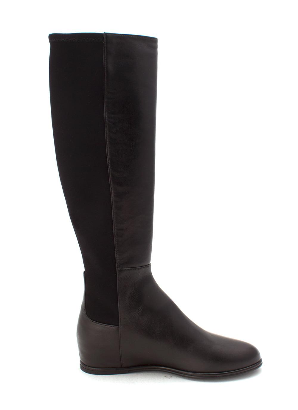 Stuart Weitzman Knee Womens Rambling Leather Almond Toe Knee Weitzman High Riding Boots 8ea78b