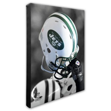 Nfl Hand Signed 16x20 Photograph - Photo File New York Jets Team Helmet Canvas Print Picture Artwork 16x20 NFL NY