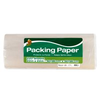 Duck Brand Packing Paper - White, 220 sheets, 24 in. x 24 in.