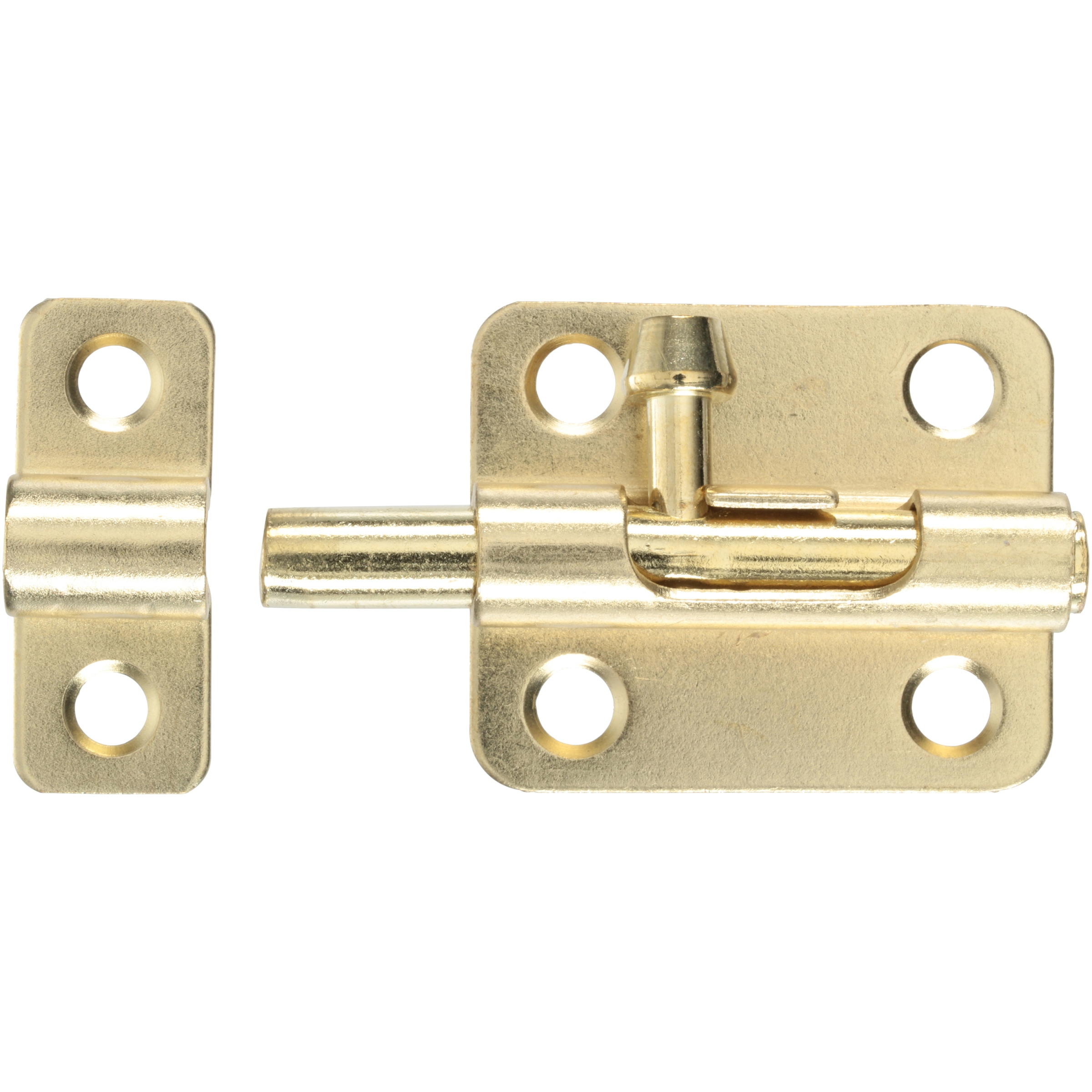 Bulldog® Hardware Brass Plated Barrel Bolt Carded Pack