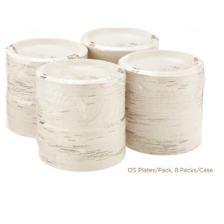 Dixie 8.5u0022 Medium-weight Paper Plates, UX9PATH, 1,000 per Case