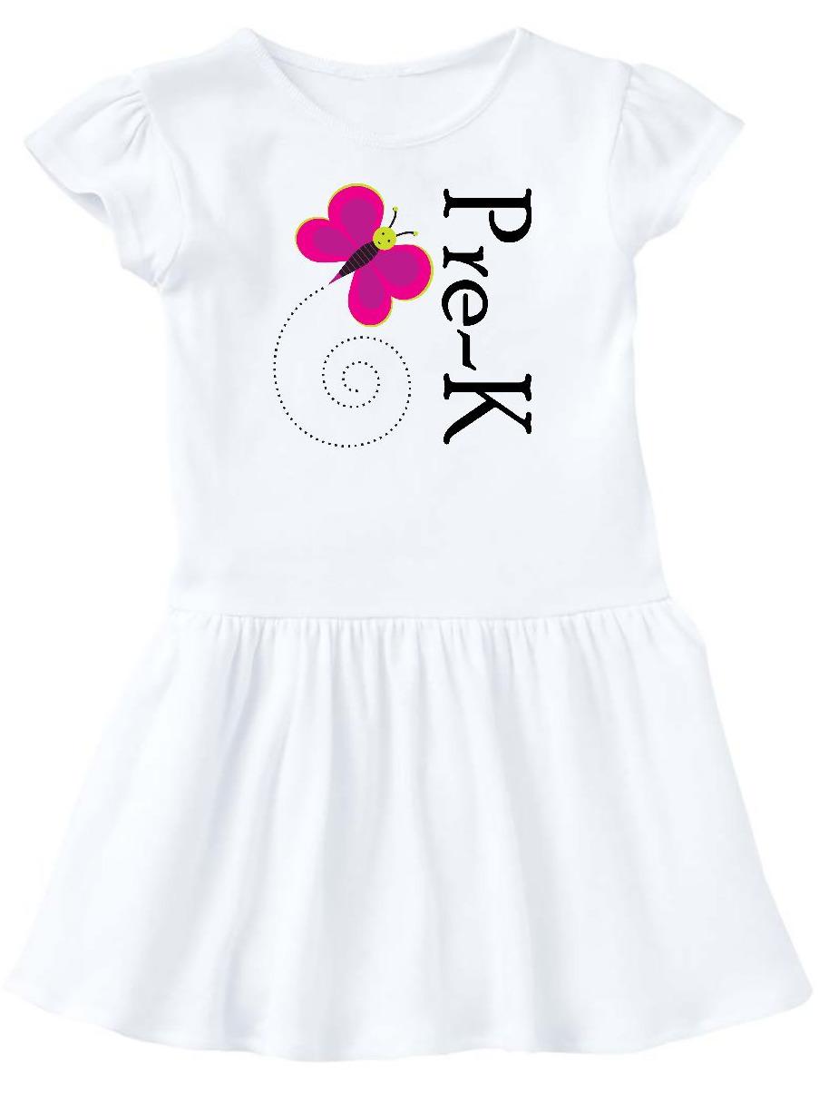 Pre-K Back To School Girls Toddler Dress