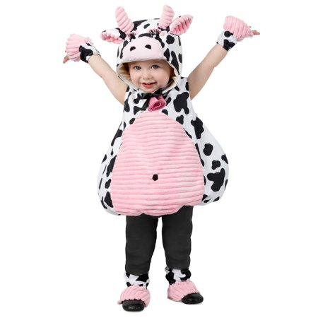 Toddler Pink Belly Cow