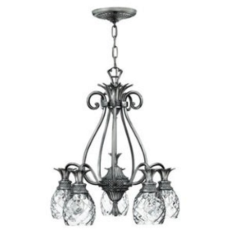 Hinkley Lighting-4885PL-Plantation - 24.5 Five Light Chandelier