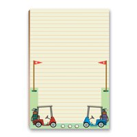 """Golf To-Do List Magnetic Notepad - 5.5"""" x 8.5"""" - 50 Sheets Per Pack - 45015"""
