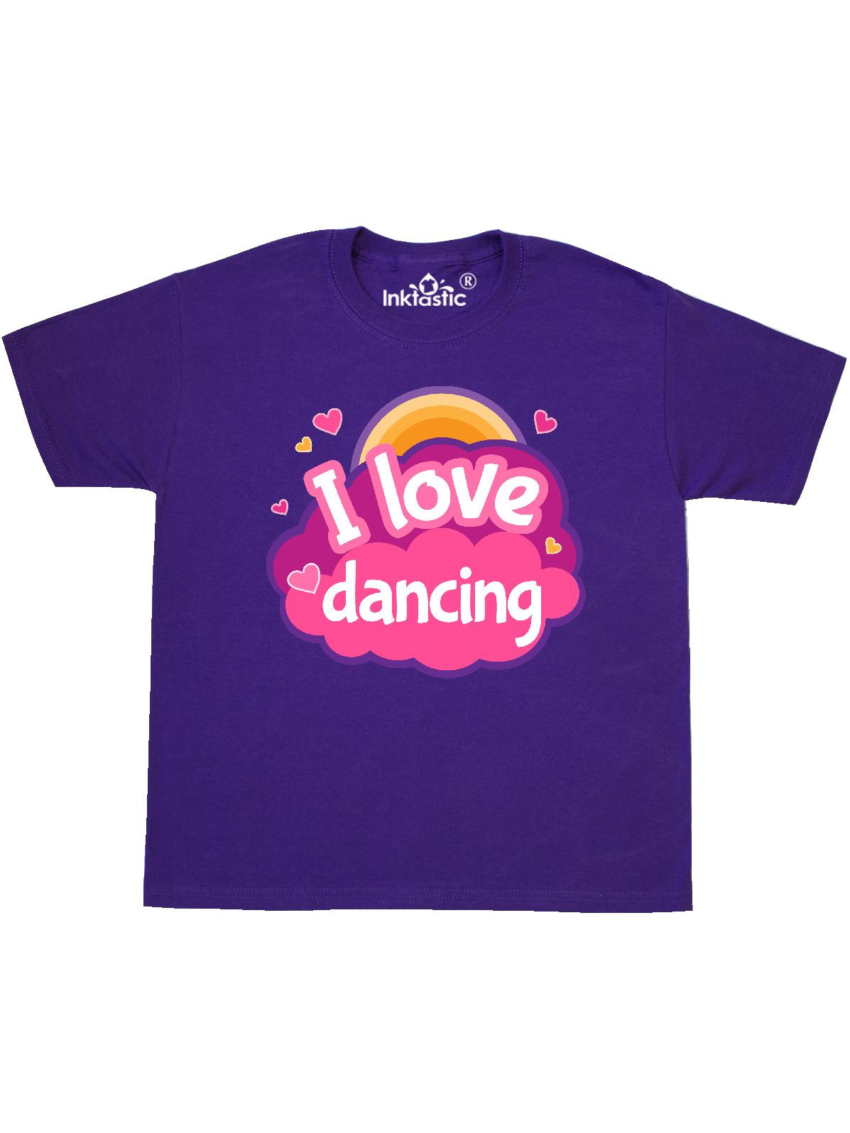 inktastic I Love Dancing Dance Gift Toddler T-Shirt