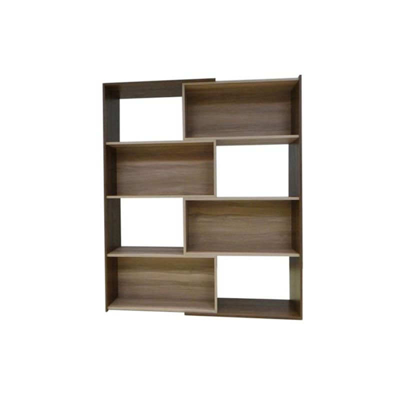 Slide Logic Expandable Bookcase Brown Walmart Com Walmart Com