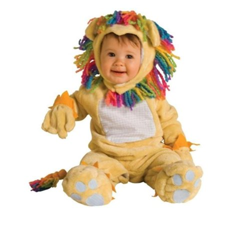 Costumes For All Occasions Ru885357I Fearless Lil Lion Infant 12-18