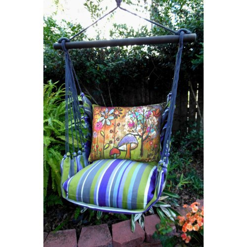 Magnolia Casual Serenity Hammock Chair & Pillow Set