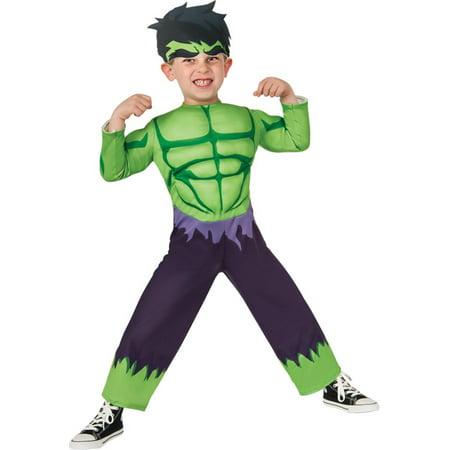 Toddler Hula Costume (Morris costumes RU620016 Hulk)