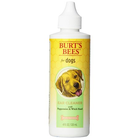 Burt's Bees Peppermint Ear Cleaner for Dogs, 4 Ounces