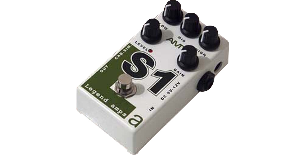AMT Electronics Legend Amps Series S1 Distortion Guitar Effects Pedal by AMT Electronics