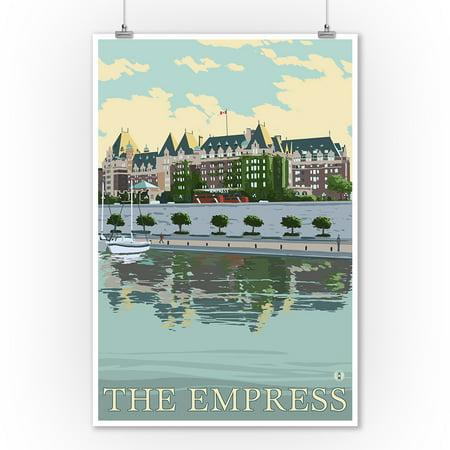 Victoria British Columbia Canada The Empress Hotel