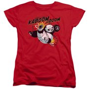Kung Fu Panda - Kaboom Of Doom - Women's Short Sleeve Shirt - XX-Large