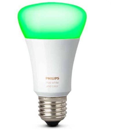 Philips Hue White And Color Ambiance A19 Led Single Bulb  3Rd Gen  With Richer Colors