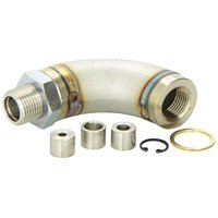 Vibrant Performance 11619 VIB11619 J-STYLE OXYGEN SENSOR RESTRICTOR FITTING WITH ADJUSTABLE GAS FLOW INSERTS
