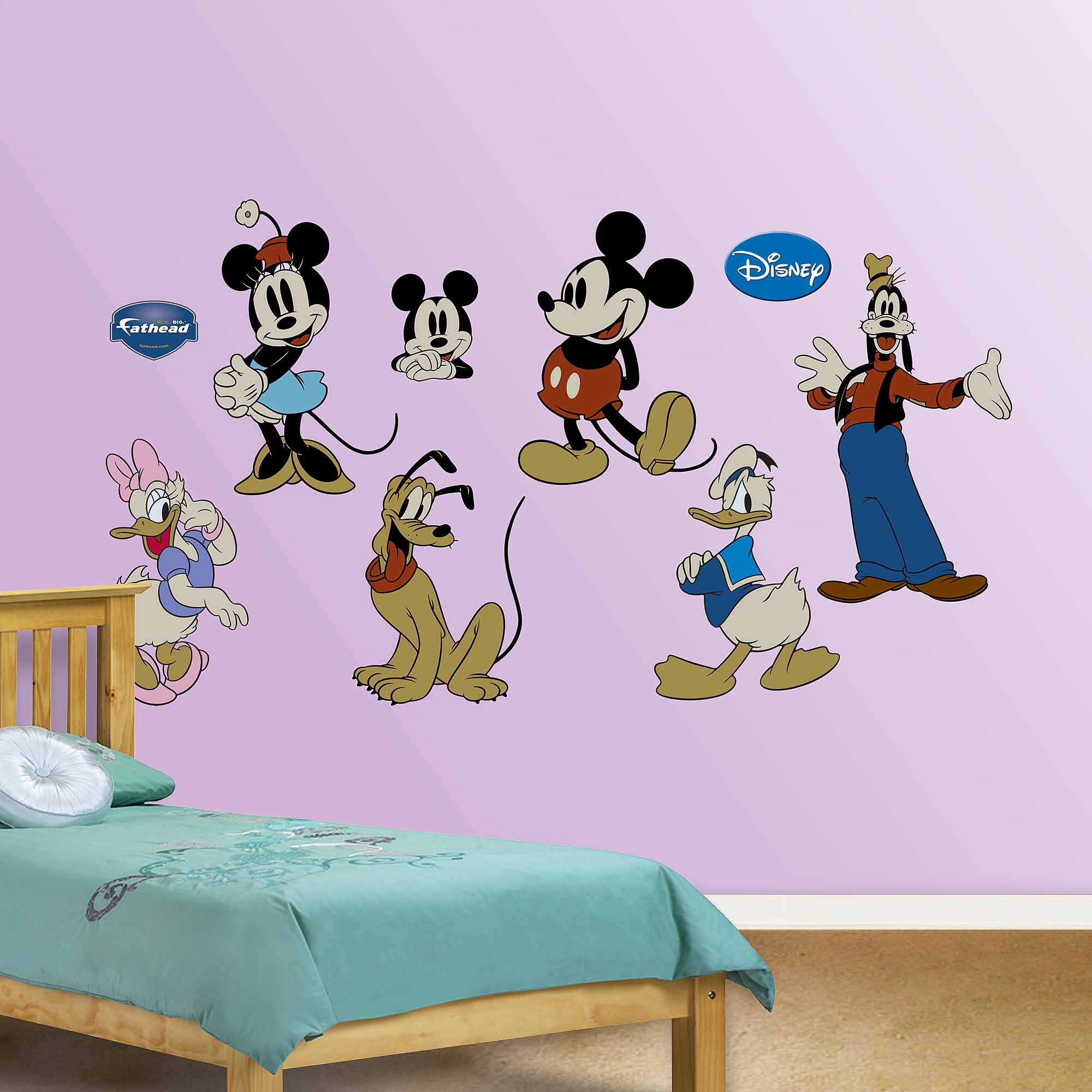 Classic Mickey & Friends Fathead