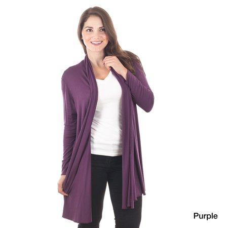 Shawl Collar Wrap Cardigan (Saro Women's Shawl Collar Cardigan)