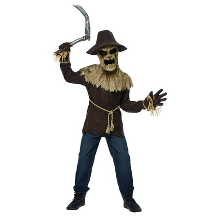 Wicked Scarecrow Kid's Costume - Scarecrow Costume For Adults